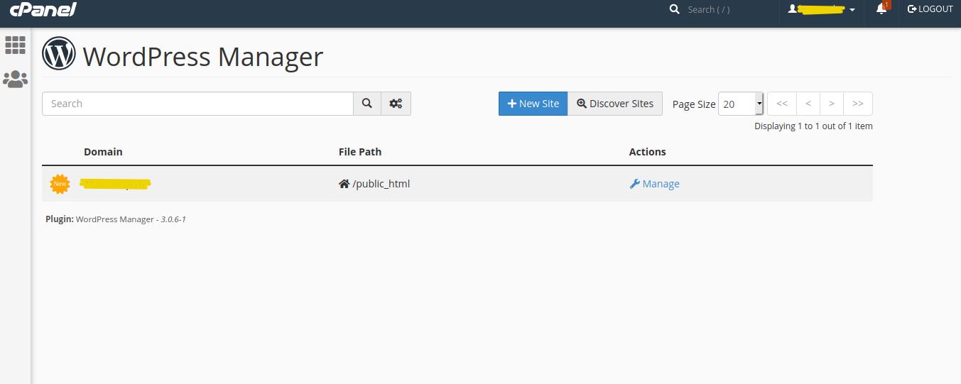 WordPress Manager